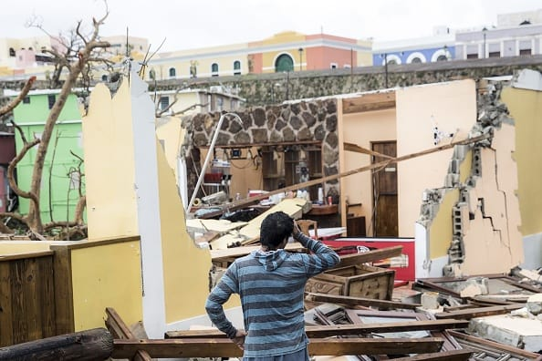 Barrio San Juan de La Perla Puerto Rico