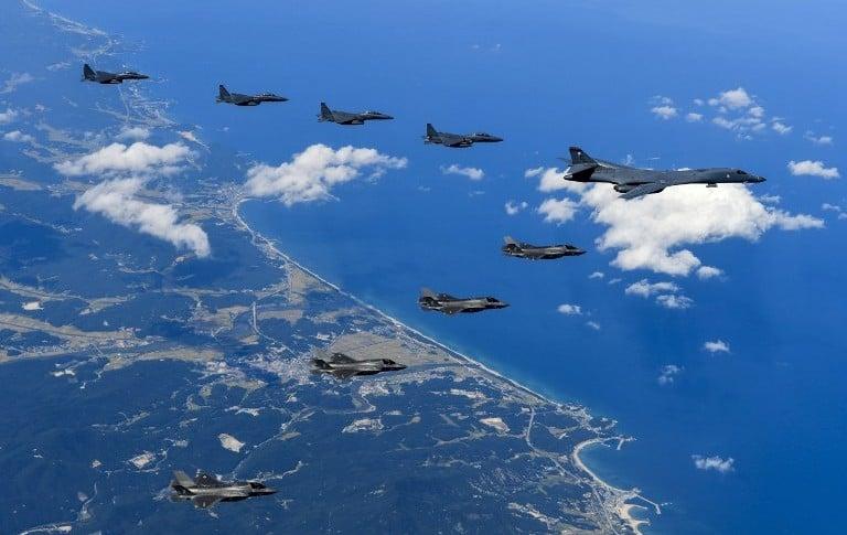 Bombarderos estadounidenses