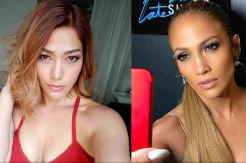 Farina y Jennifer Lopez