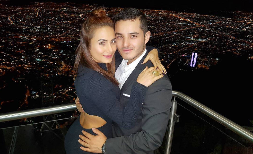 Johanna Fadul y Juan Sebastián Quintero