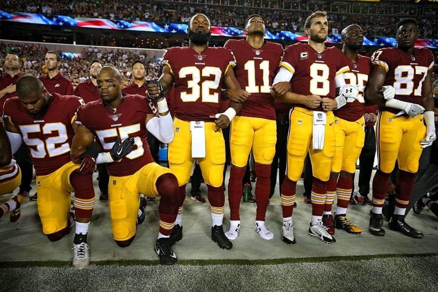 Protestas en la NFL