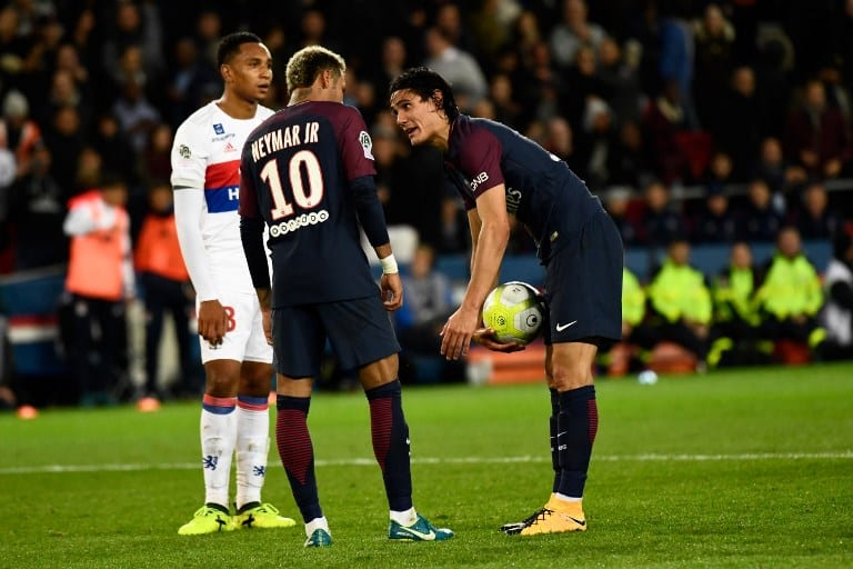 Cavani y Neymar