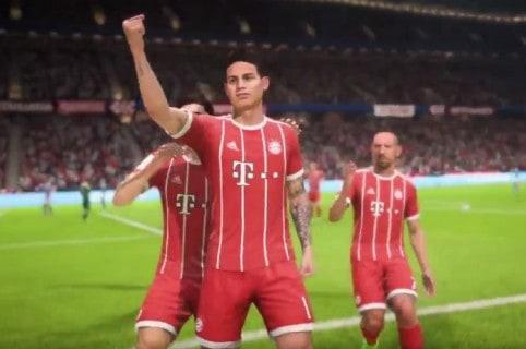 James Rodríguez en FIFA 18