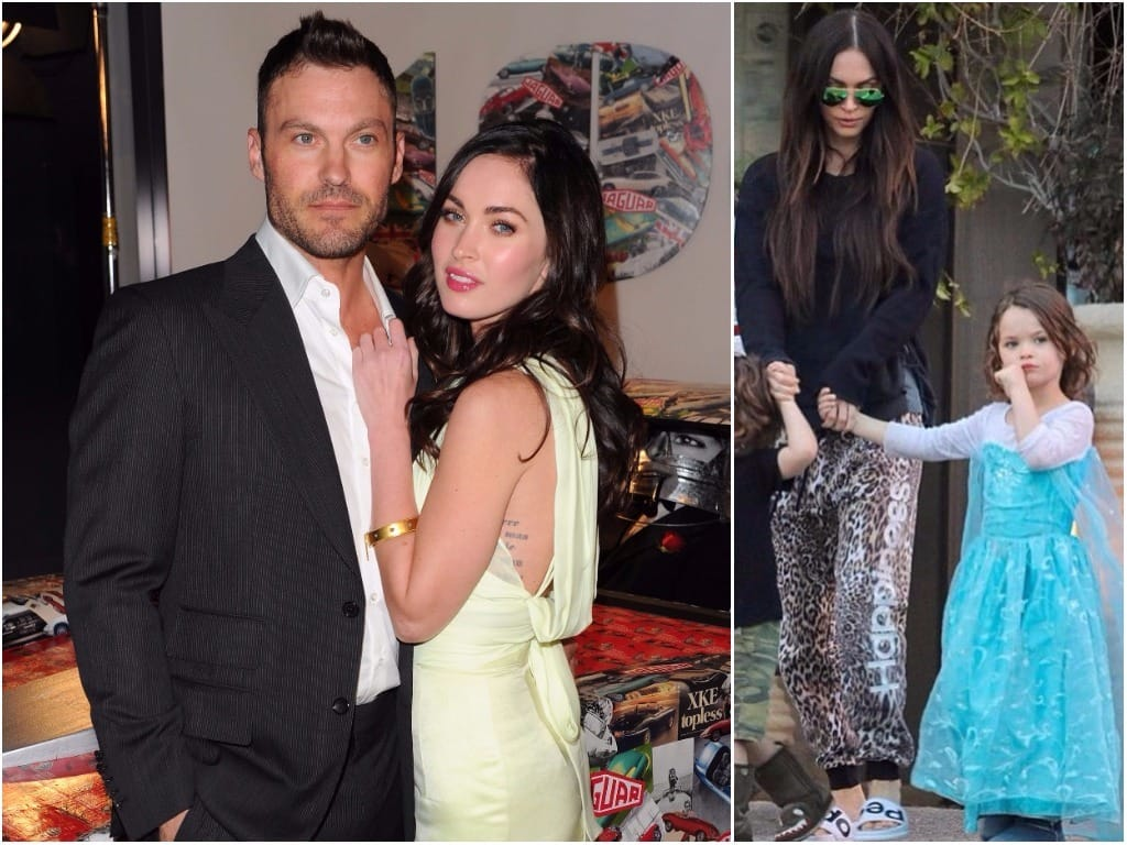 Brian Austin Green, Megan Fox y Noah