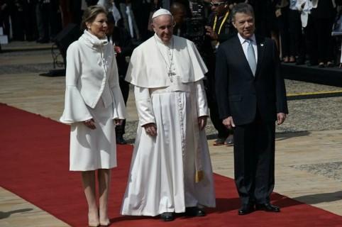 Papa Francisco en Bogotá