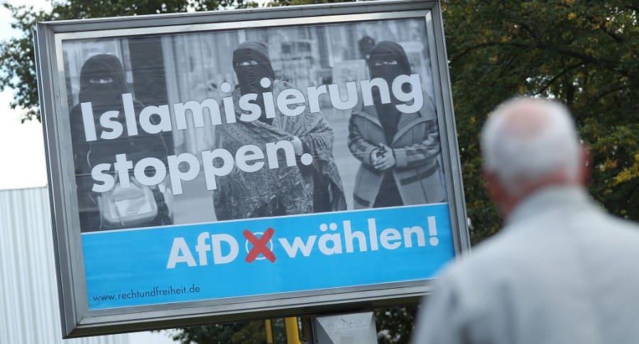 Campaña de la AfD