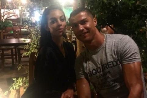 Georgina Rodríguez y Cristiano Ronaldo. Pulzo.