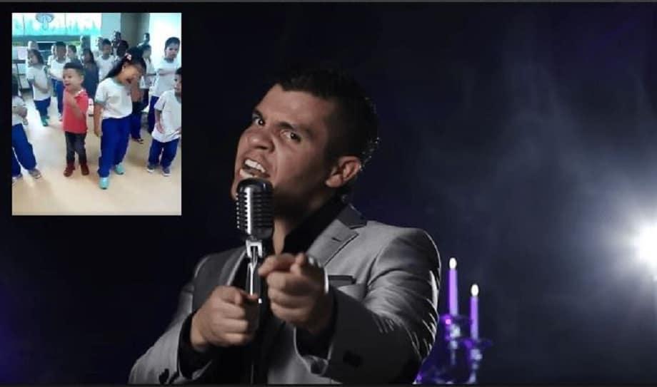 Niños cantan canción de Alzate