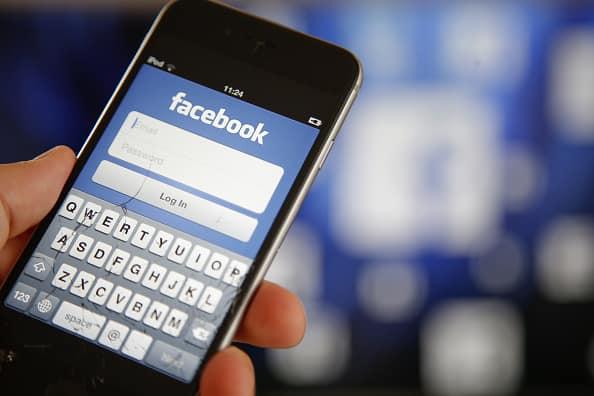 Inicio de sesión en Facebook
