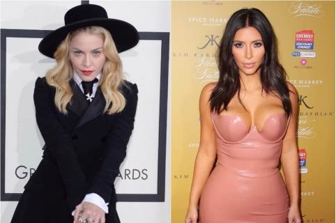 Madonna  / Kim Kardashian