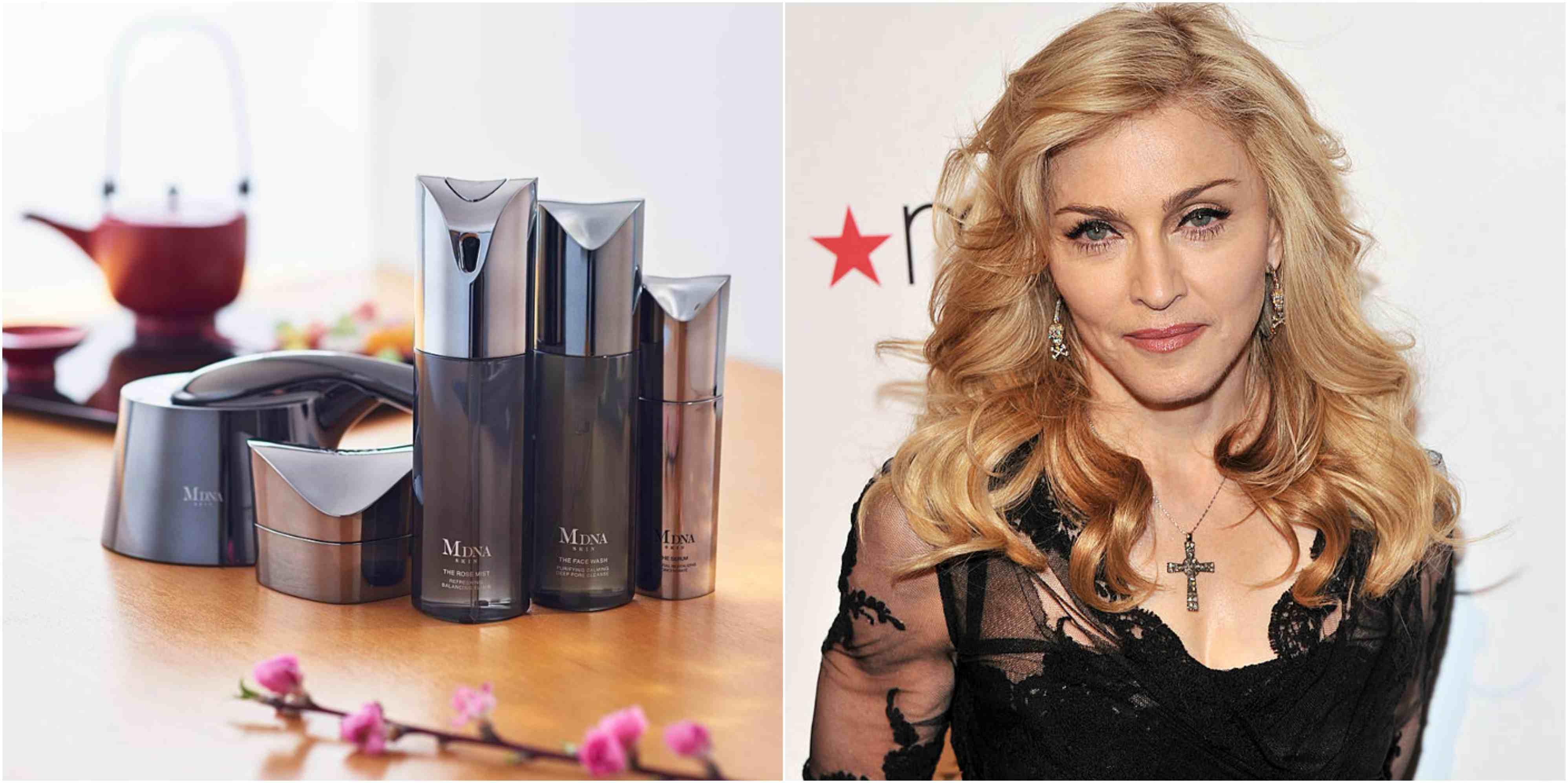 Productos para cuidar la piel de Madonna