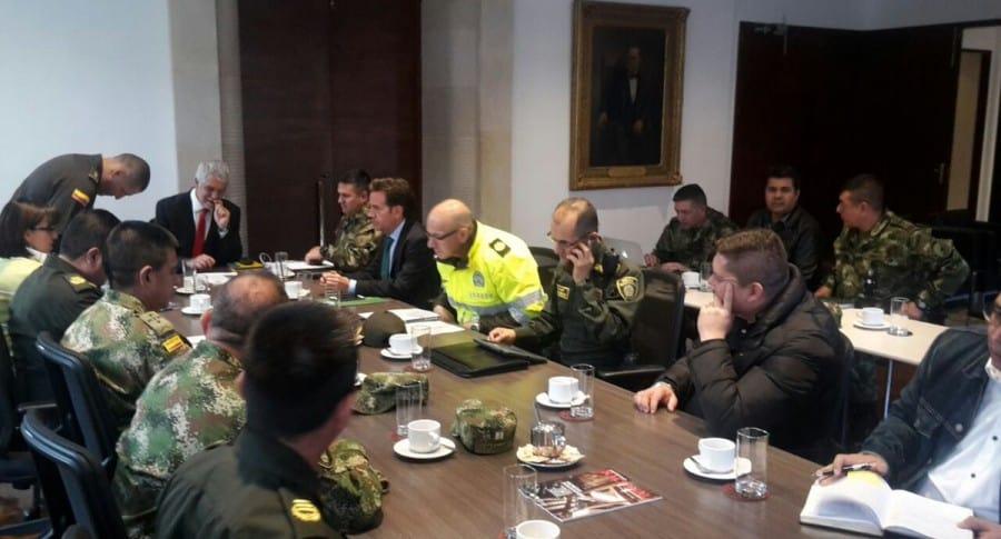 Reunión de autoridades en Bogotá