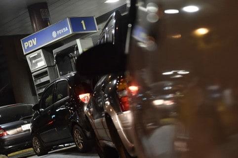 Estación de gasolina en Venezuela