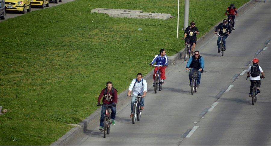 Bicicletas en Bogotá