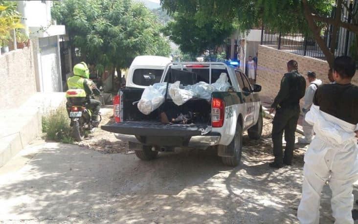 Doble asesinato en Santa Marta