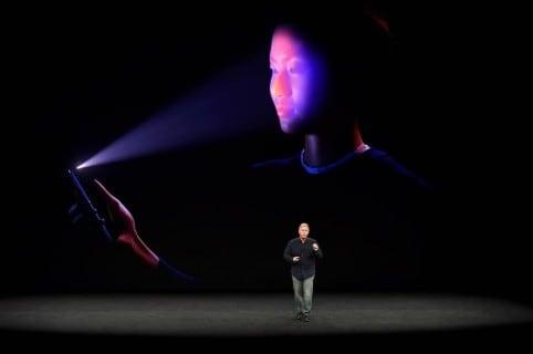 Face ID en iPhone X
