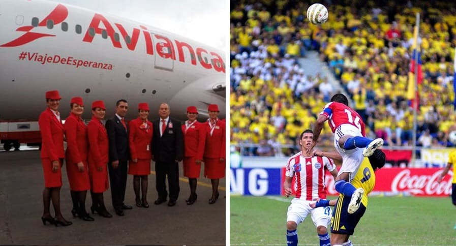 Avianca y Selección Colombia vs. Paraguay