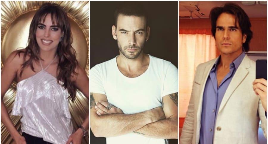 Sara Corrales, Diego Cadavid y Daniel Arenas.