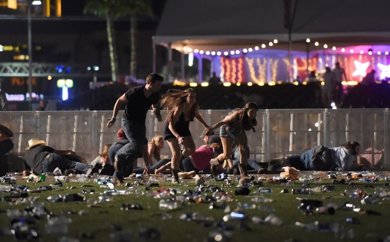 Tiroteo en concierto en Las Vegas