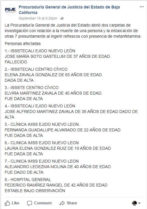 Post Procuradoría Baja California