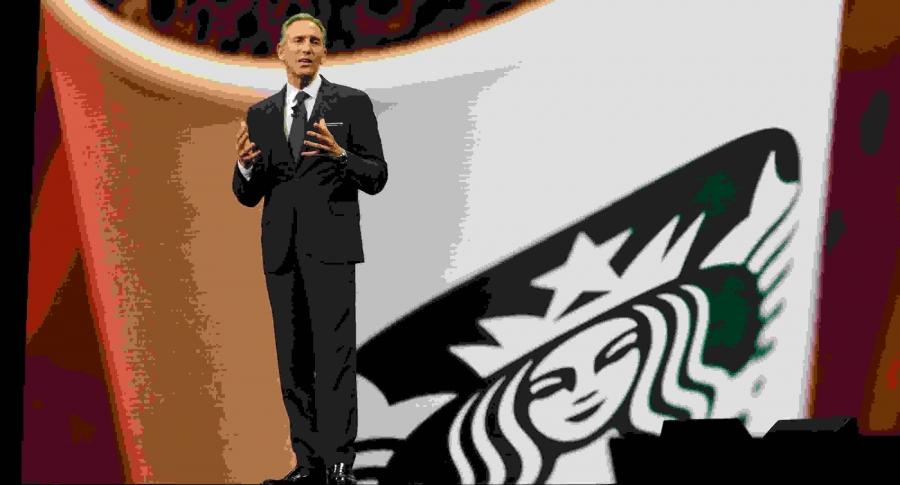Howard Schultz, director ejecutivo de Starbucks