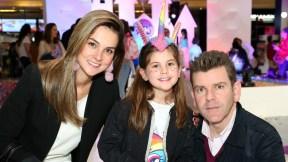 Catalina Gómez, Emilia y Juan Esteban Sampedro