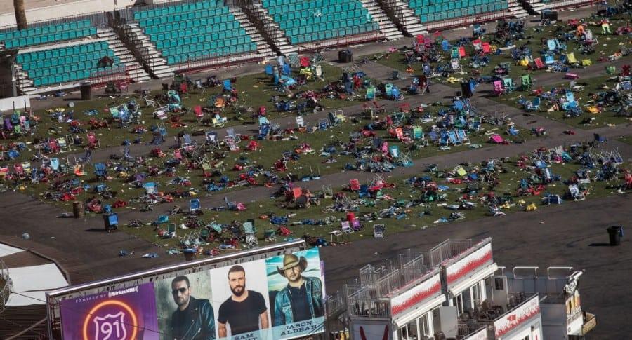Las Vegas, después de la masacre del domingo