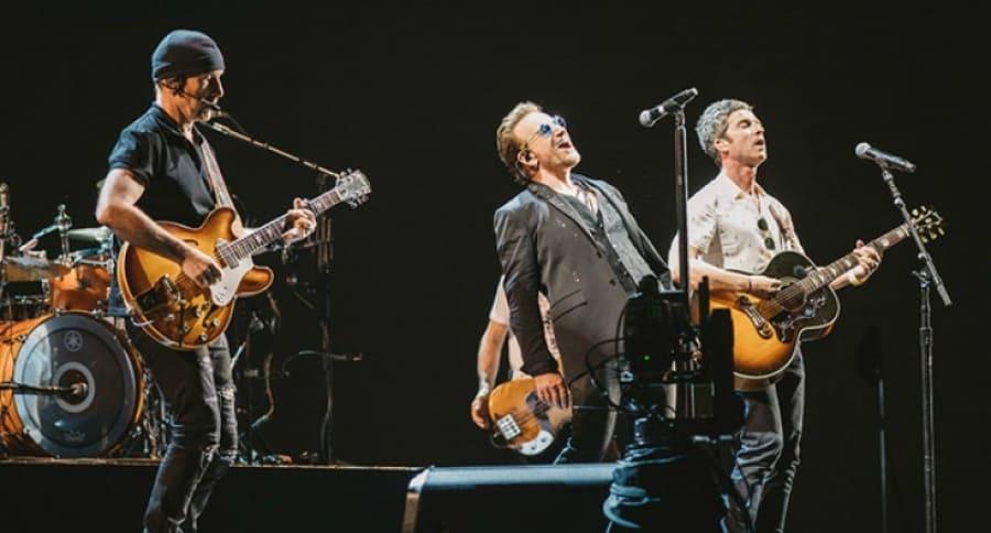 U2 en concierto. Pulzo.