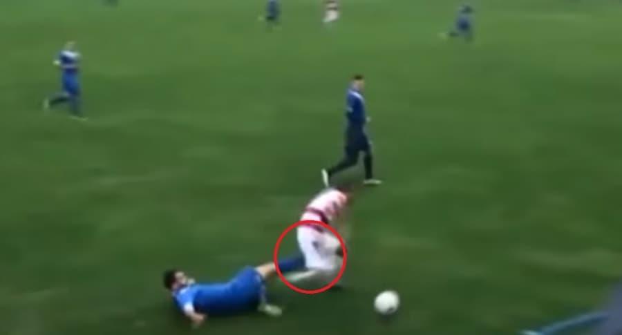 Jugador pierde testículo en fútbol de Bosnia