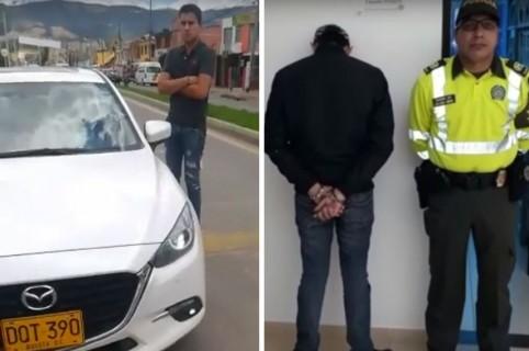 Camilo García, conductor que atropelló a mujer en Cajicá