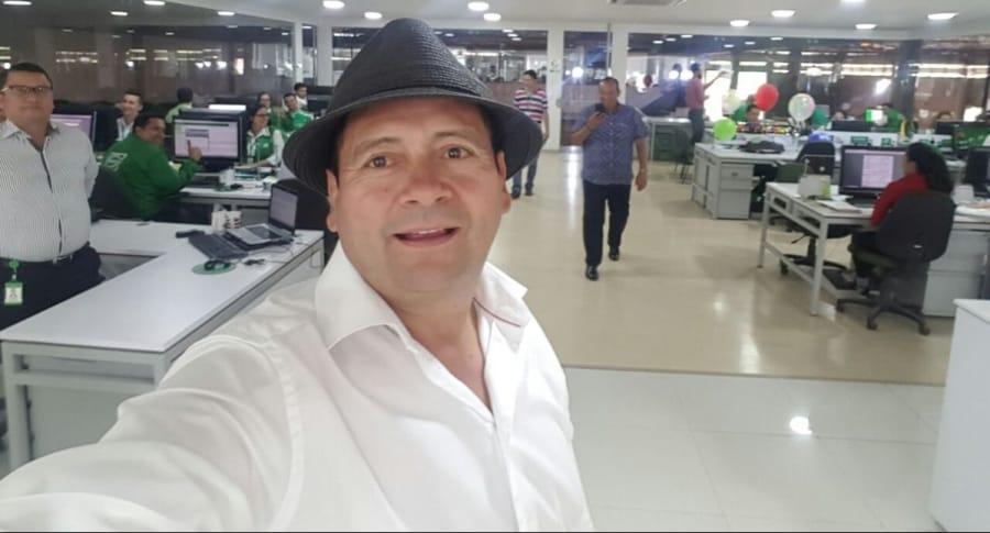 Jesús Guerrero, fundador de Servientrega