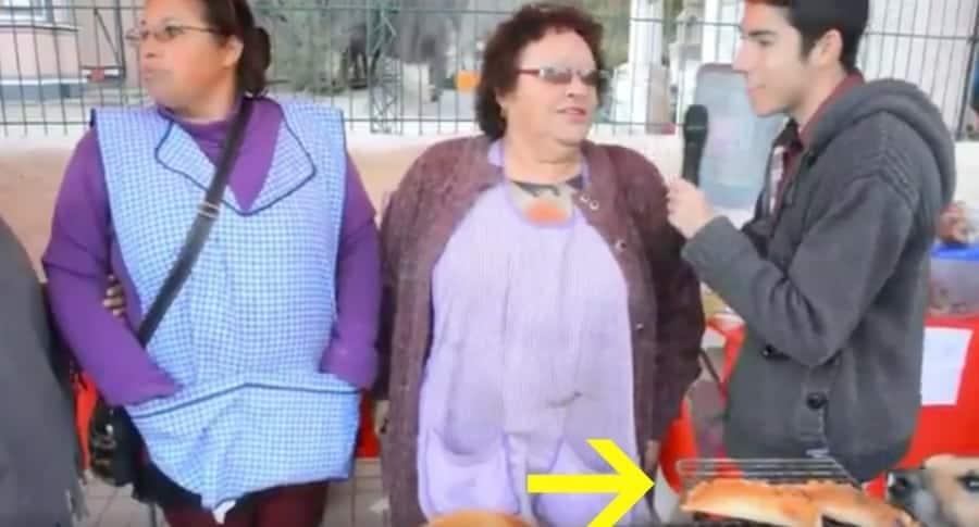 Perro famoso por robarse una empanada. Pulzo.