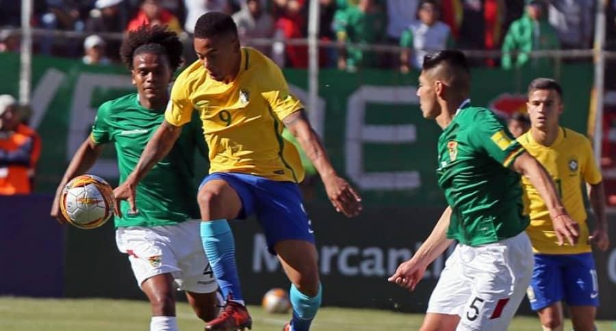 Bolivia vs. Brasil