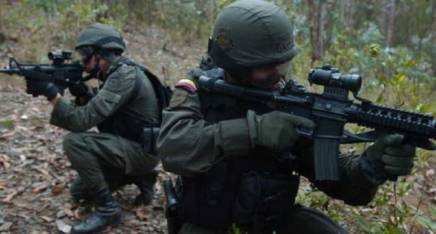 Unidades del Gaula del Ejército