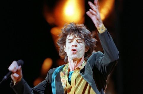 Mick Jagger, líder de The Rolling Stones