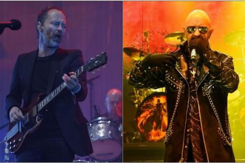 Thom Yorke y Rob Halford
