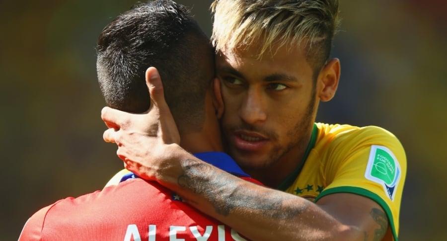 Alexis Sánchez y Neymar