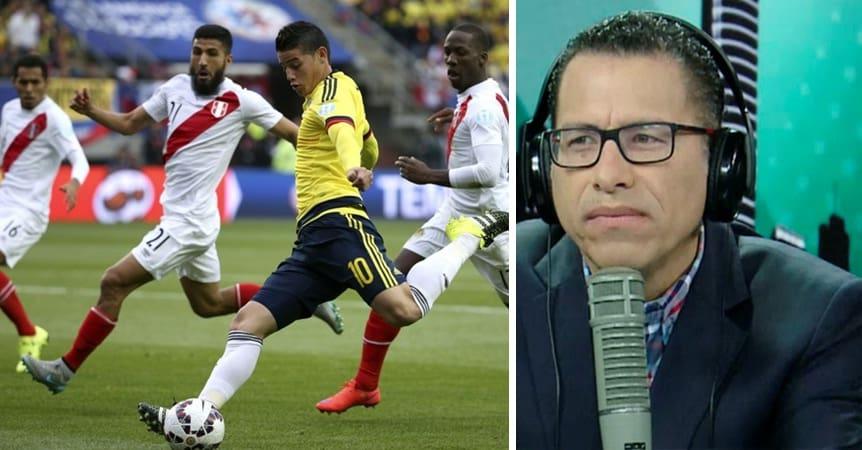 Perú vs. Colombia y Phillip Butters