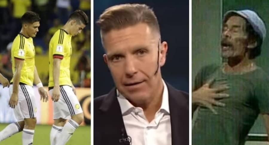 Selección Colombia y Alejandro Fantino