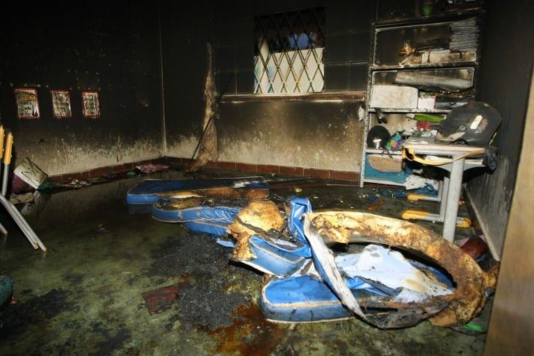 Incendio en guardería de Brasil