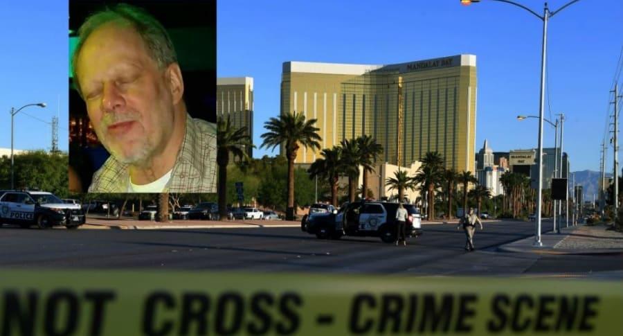 Carta del asesino de Las Vegas