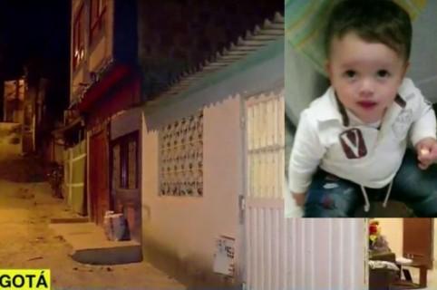 En esta calle de la localidad de Usme, sur de Bogotá, sufrió el accidente el pequeño Erick Fandiño (foto)