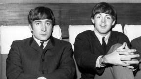 John Lennon y Paul McCartney