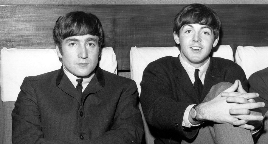 John Lennon y Paul McCartney