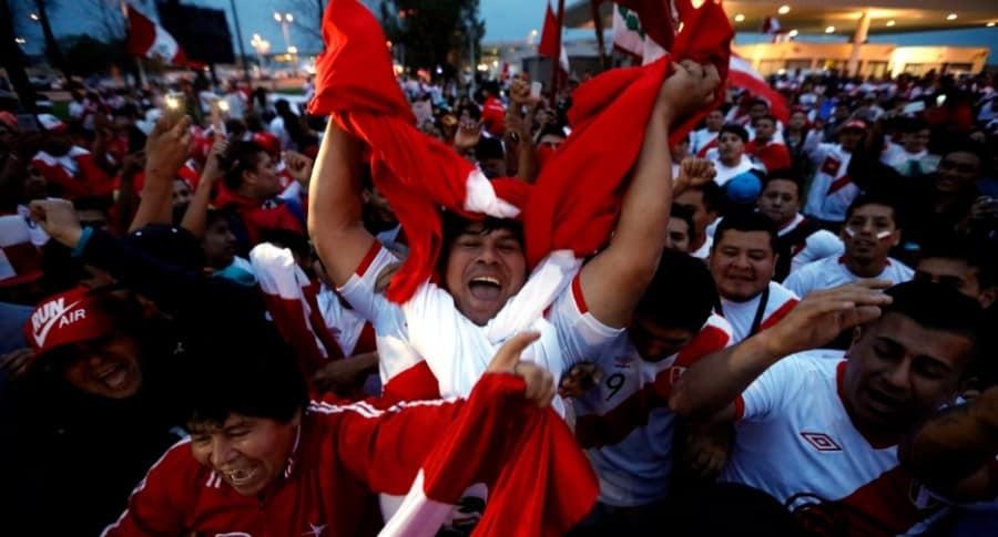 Hinchas de Perú