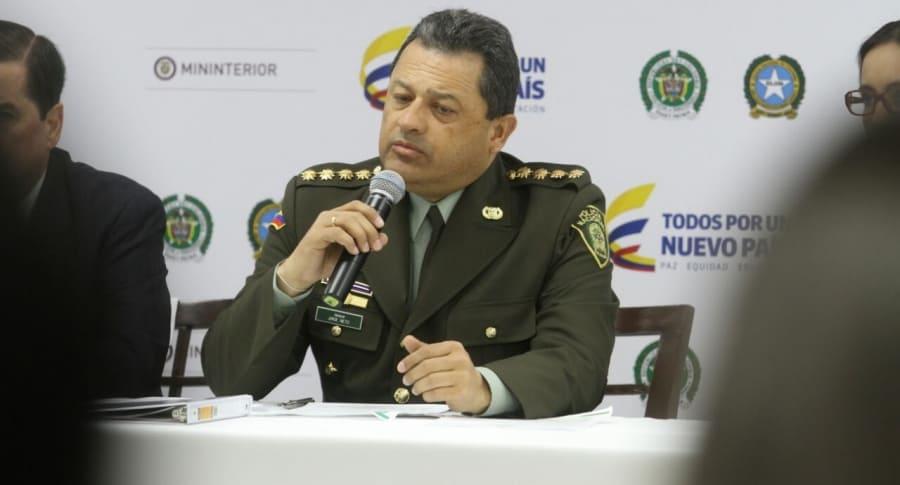 Director de la Policía, Jorge Nieto