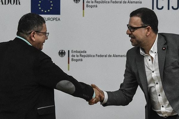 Pablo Catatumbo y Fredy Rendón