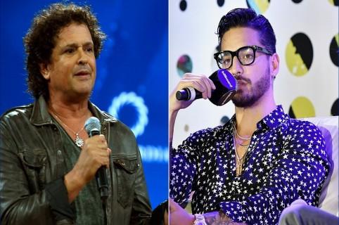 Carlos Vives y Maluma, cantante.