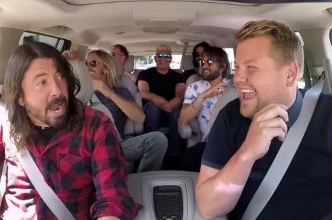 Foo Fighters en 'Carpool Karaoke'