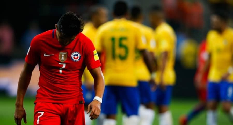 Chile, eliminado de Rusia